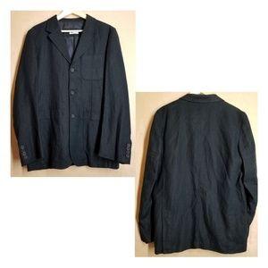Bullock & Jones, Blue Linen Blazer / suit coat